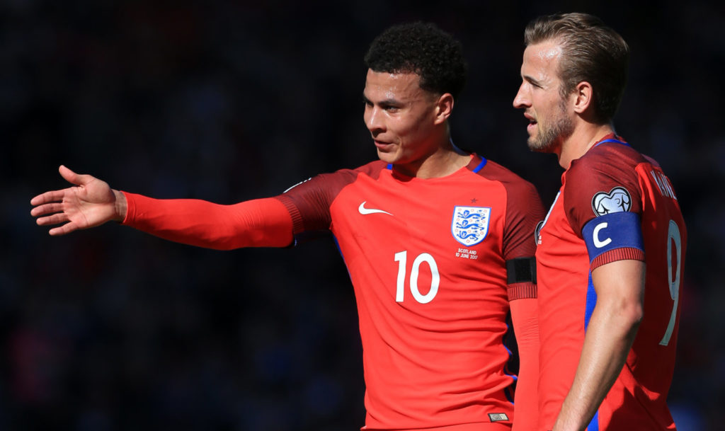 Harry Kane Dele Alli World Cup
