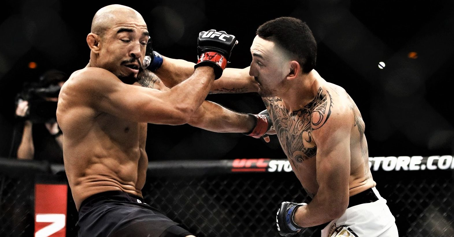 Jose Aldo Max Holloway UFC