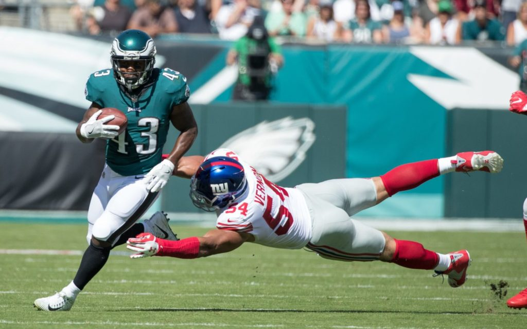 Philadelphia Eagles Darren Sproles NFL